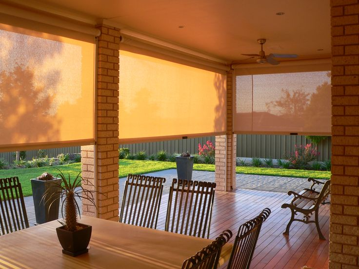 Outdoor Living Sun Screens Shades and more for your Patio East