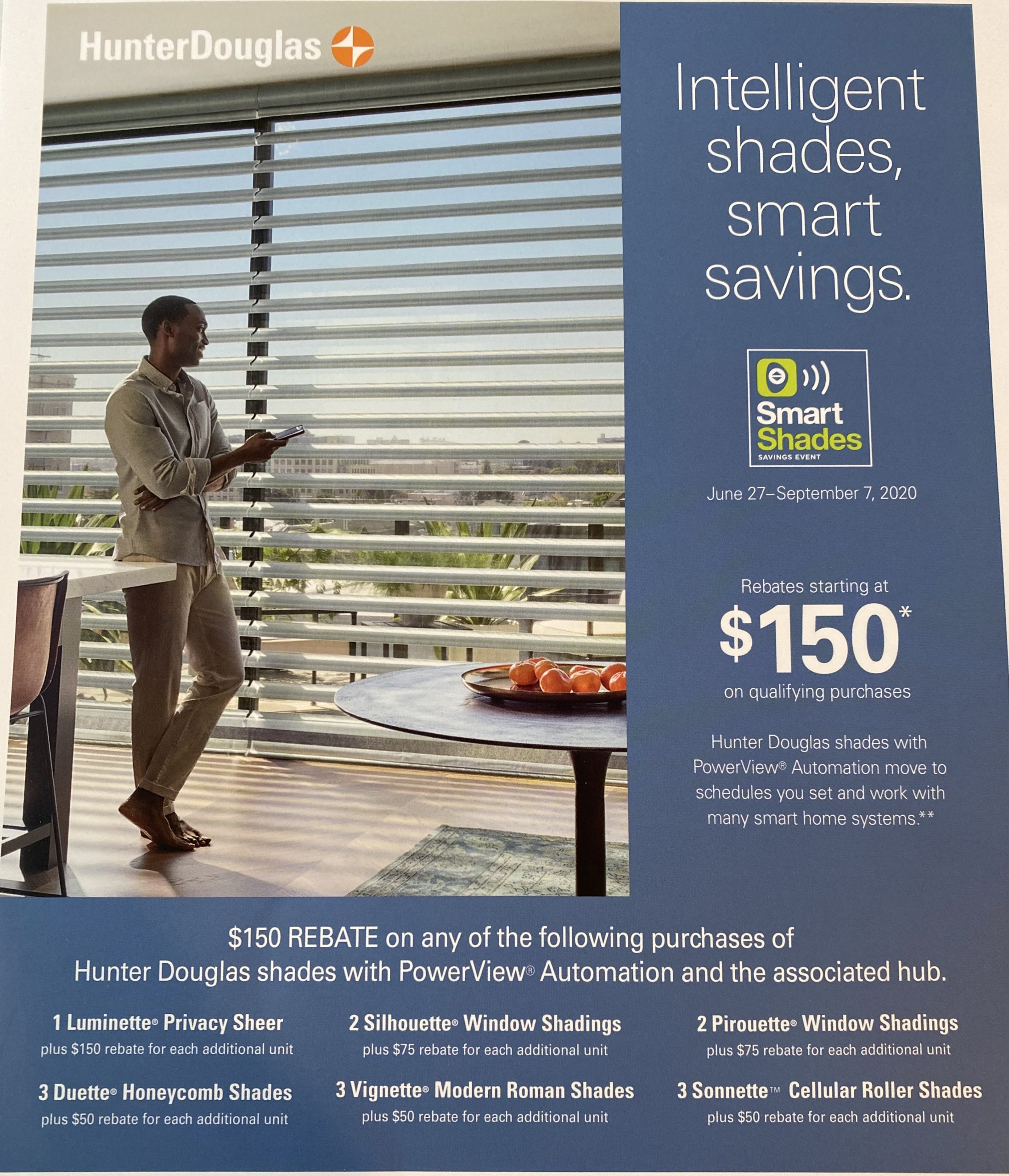 Free Design Consult for Luxury Window Blinds